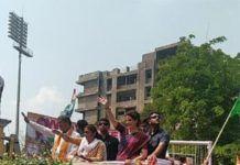 র্বাচনের প্রচারে কংগ্রেস সম্পাদক প্রিয়াঙ্কা গান্ধী এবার আসামের শিলচরে