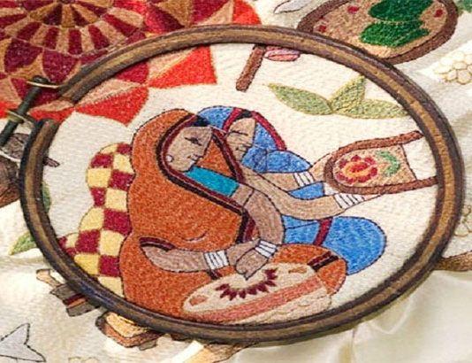 পল্লী কবিতার উৎস ও নকশিকাঁথা
