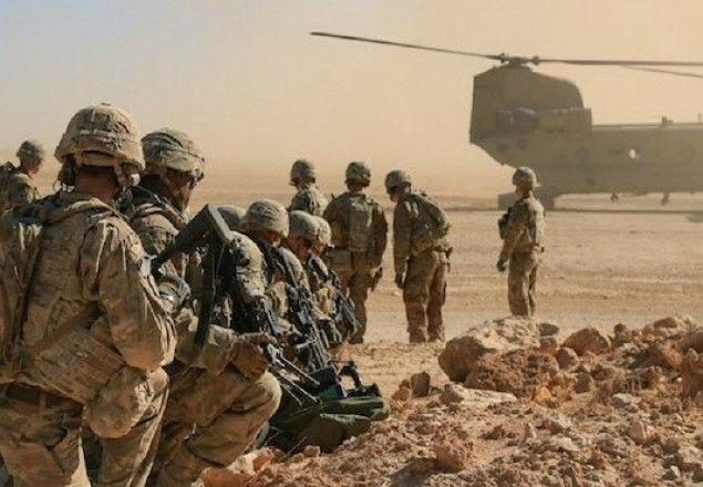 ইরাকে মার্কিন বাহিনী