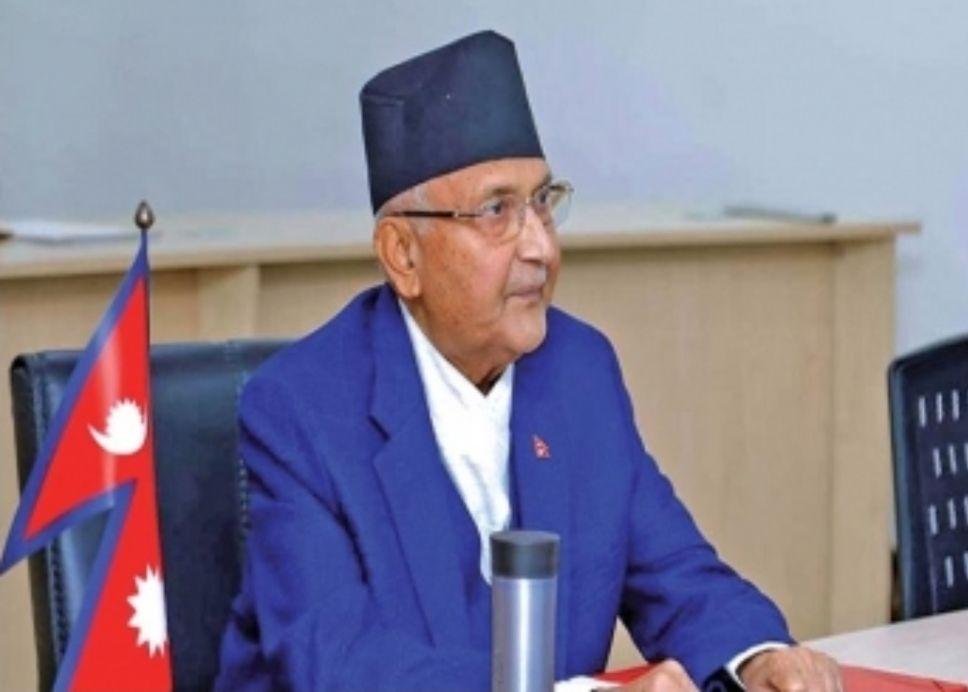 নেপালের প্রধানমন্ত্রী কেপি শর্মা ওলি